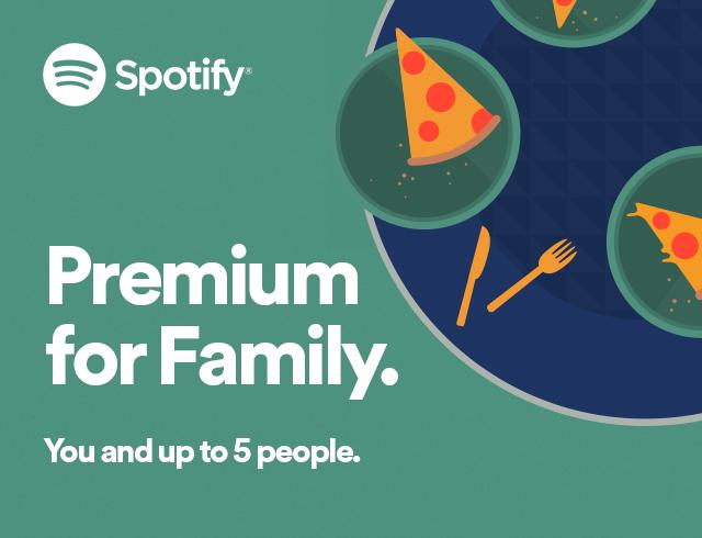 Spotify Premium voor een prikkie met Spotify Family